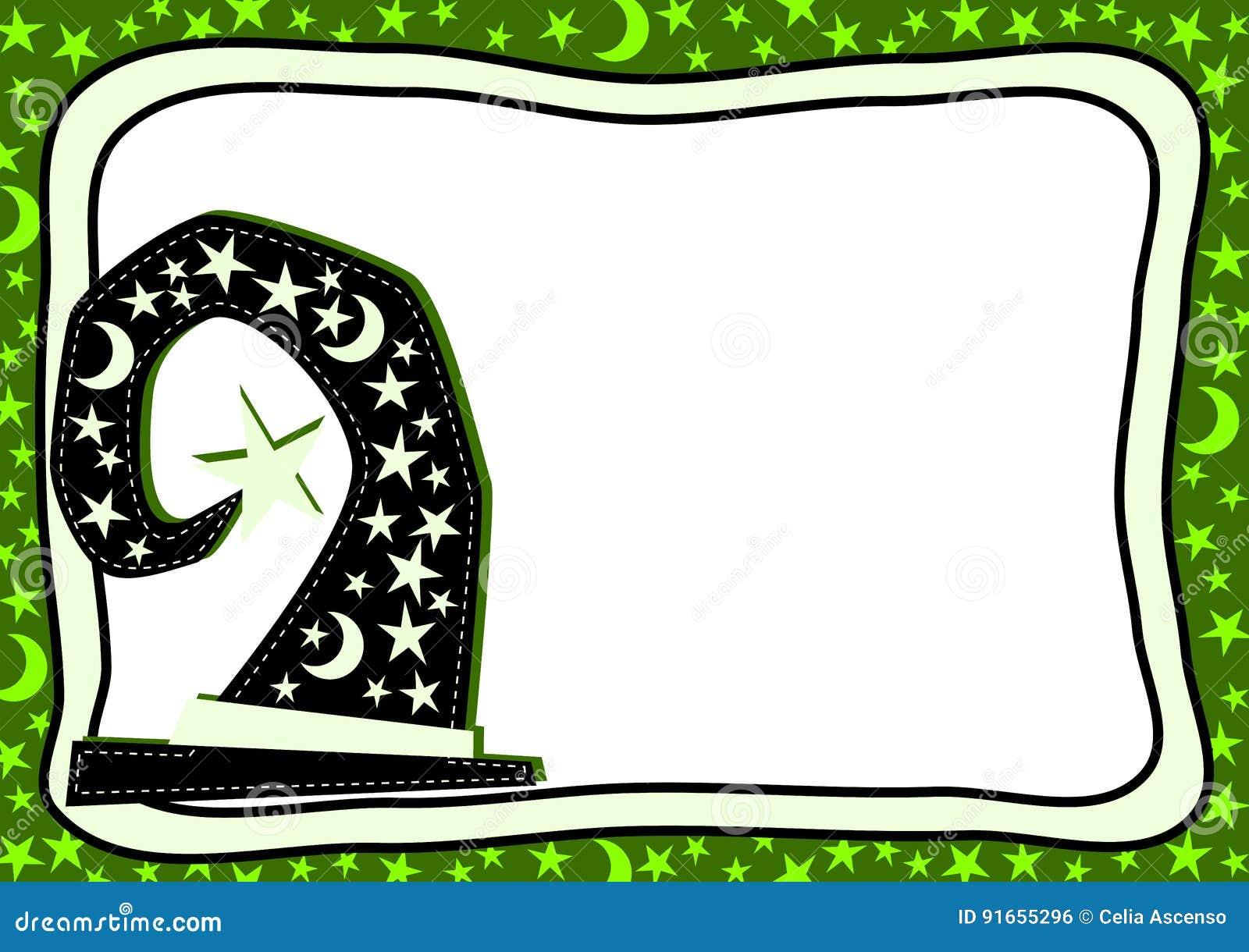 halloween party invitation card stock illustration - illustration of
