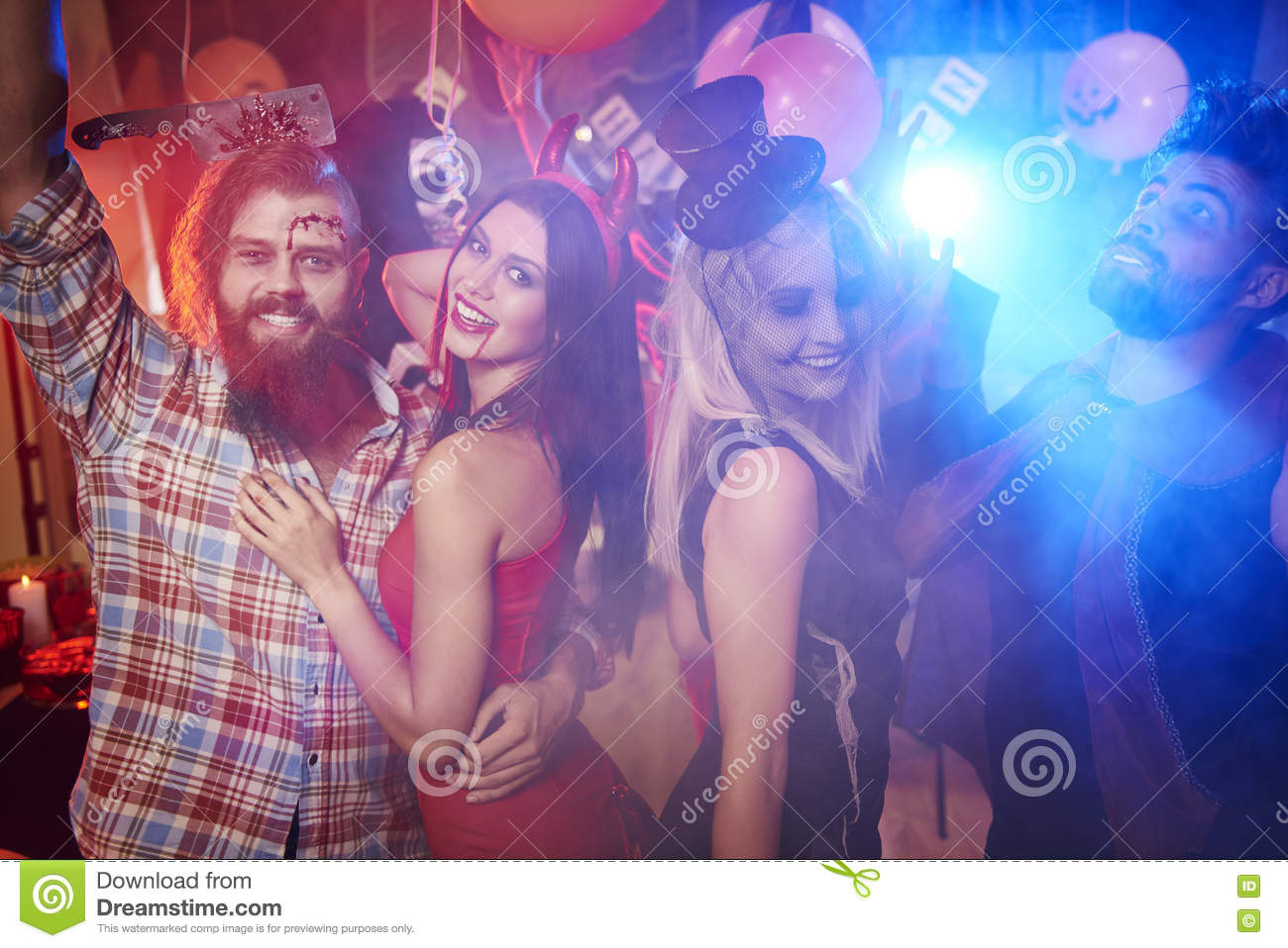 Halloween Party Stock Photo - Image: 78772303