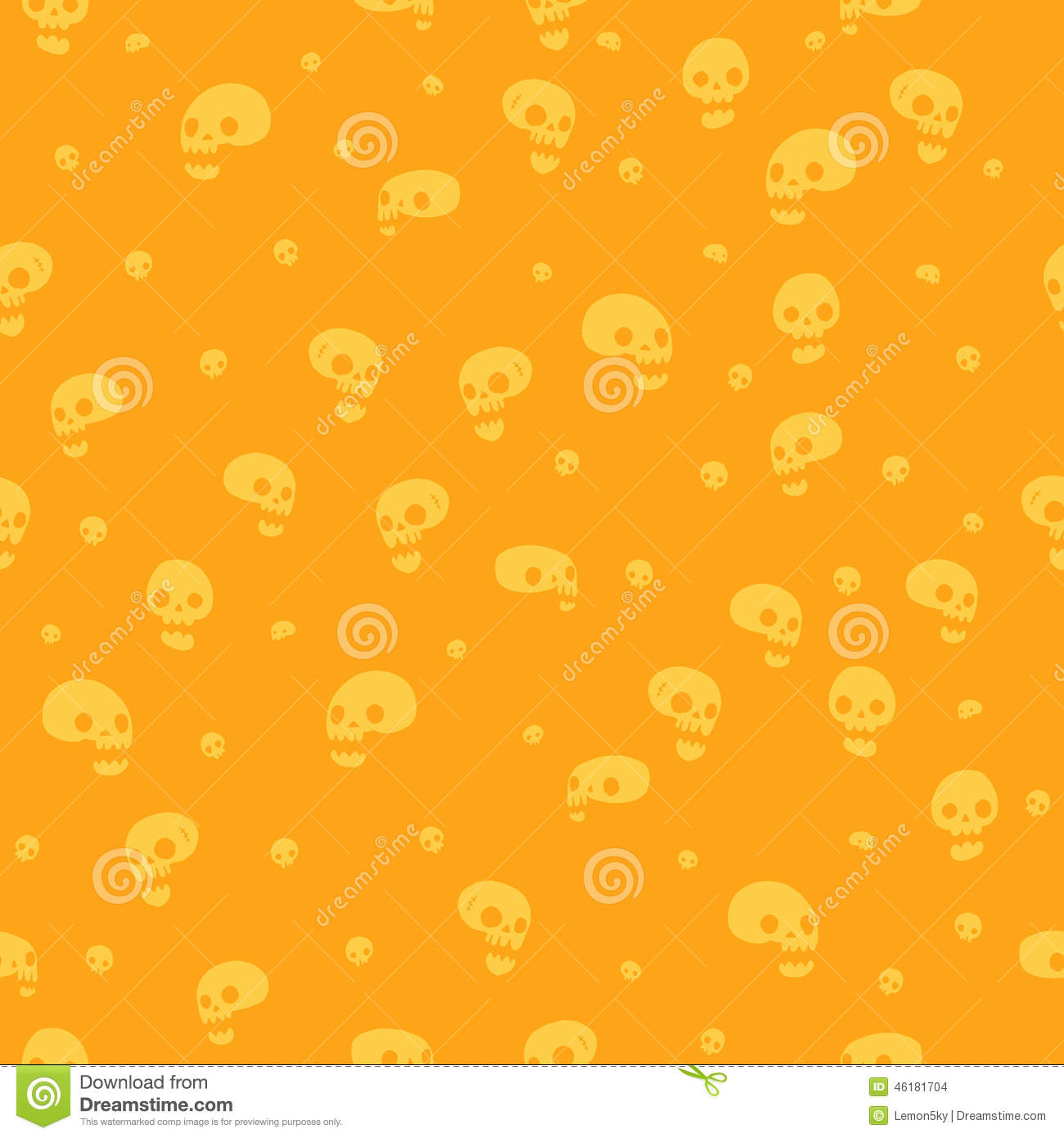 Great Wallpaper Halloween Gold - halloween-party-skull-background-seamless-pattern-vector-web-page-backgrounds-postcards-greeting-cards-invitations-fills-46181704  HD_349025.jpg