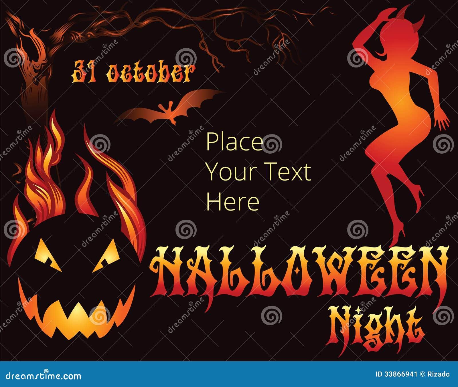 Halloween Party Template. halloween invitation 35 free psd vector ...