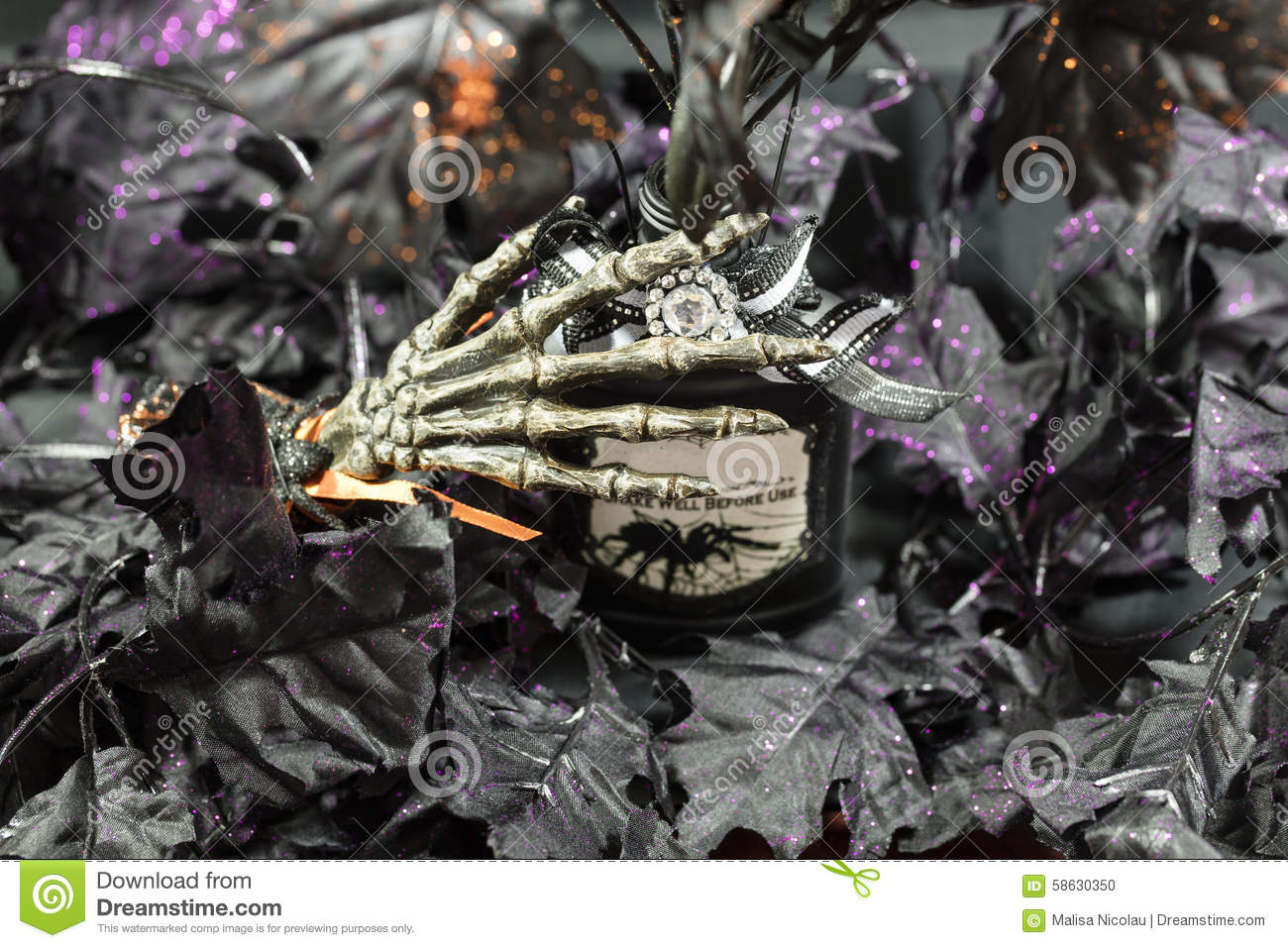 Halloween Party Time Stock Photo - Image: 58630350