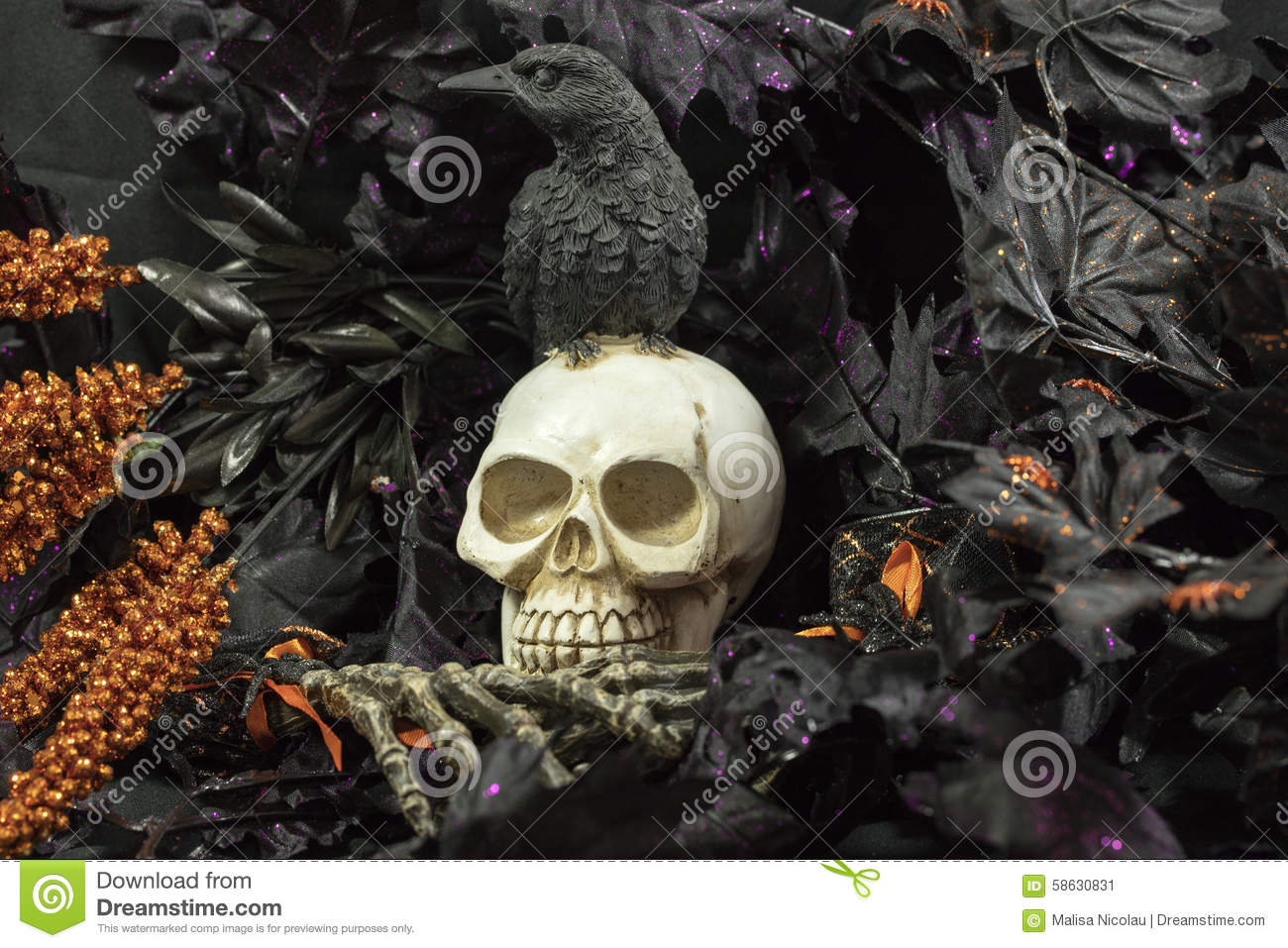 Halloween Party Time Stock Photo - Image: 58630831