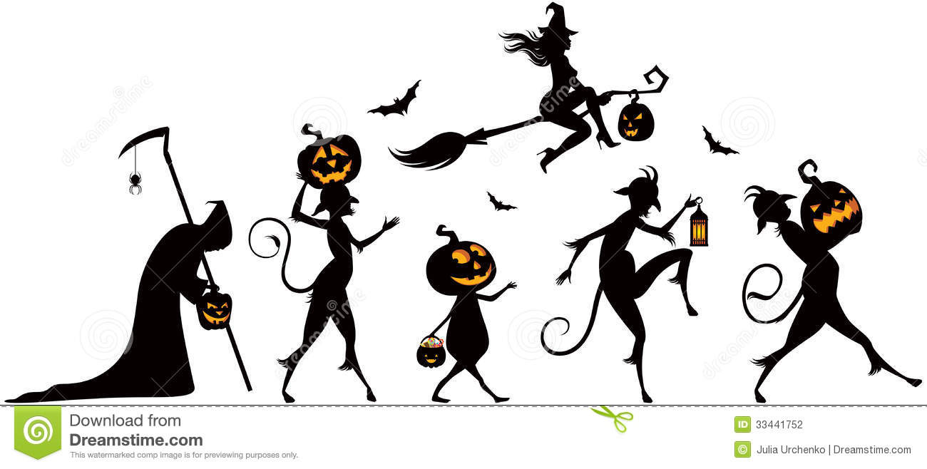 30 Wonderful Halloween Tree Tattoos Designs And Ideas also Royalty Free Stock Photos Funny Cartoon Ghost Black White Line Retro Style Vector Available Image37025828 besides Stock Illustration Ghost Faces Pumpkin Faces Design Image44265173 also Grim Reaper moreover Stock Photography Halloween Party Vector Silhouettes Parade Image33441752. on scary ghost vector