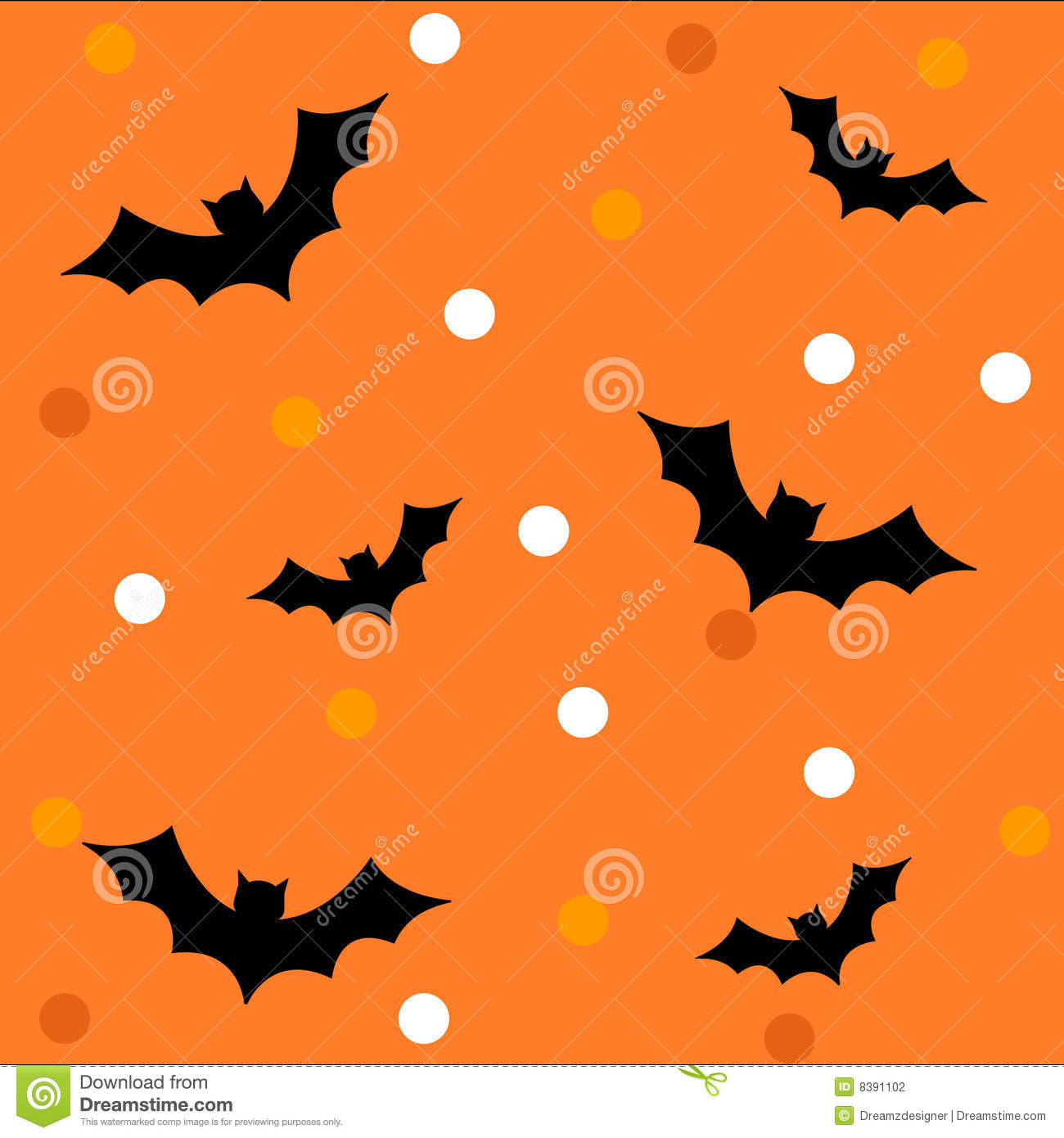 Halloween Pattern / Background Stock Photography