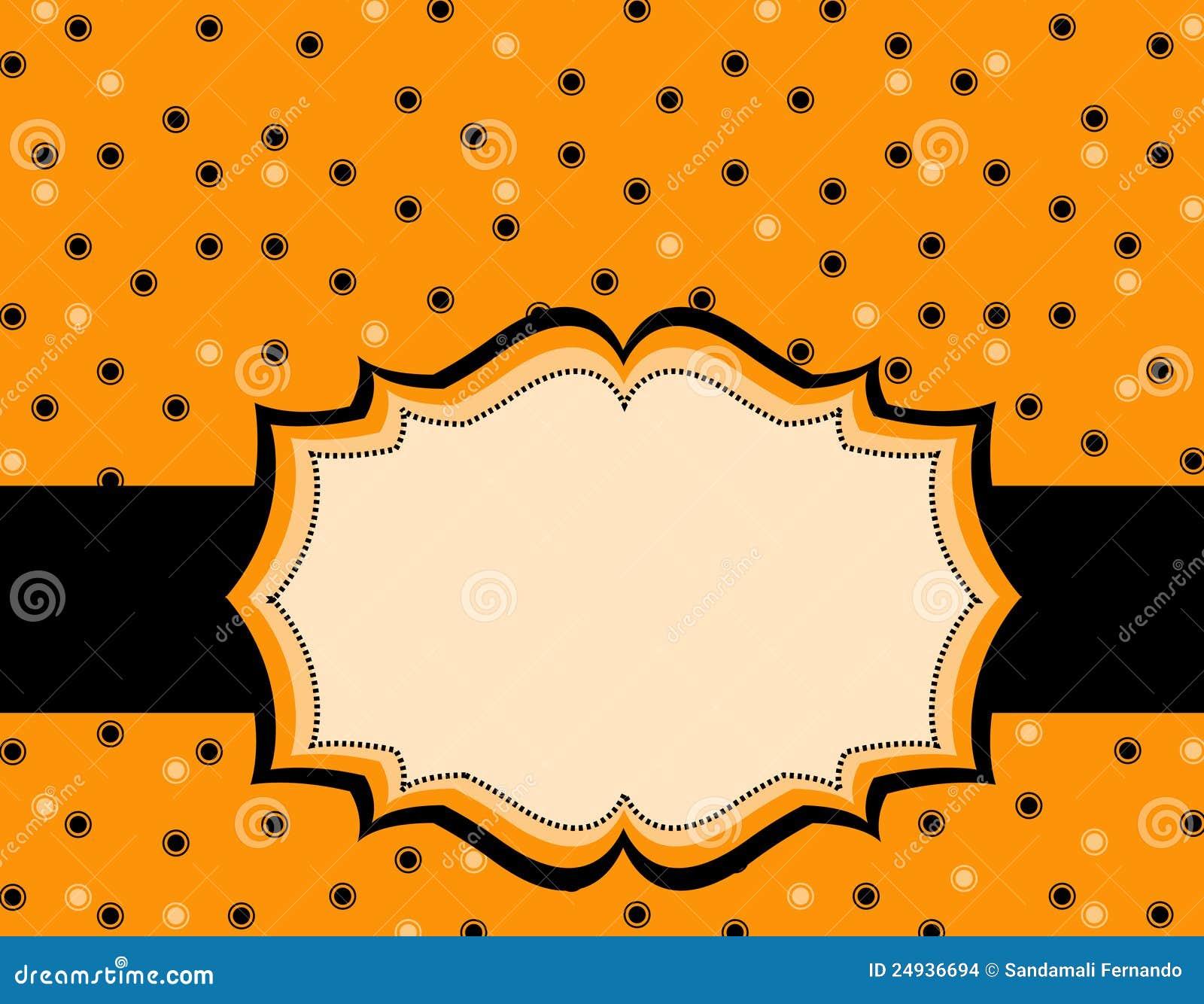 halloween polka background stock vector illustration of card 24936694 pink polka dot border clip art gold polka dot border clip art