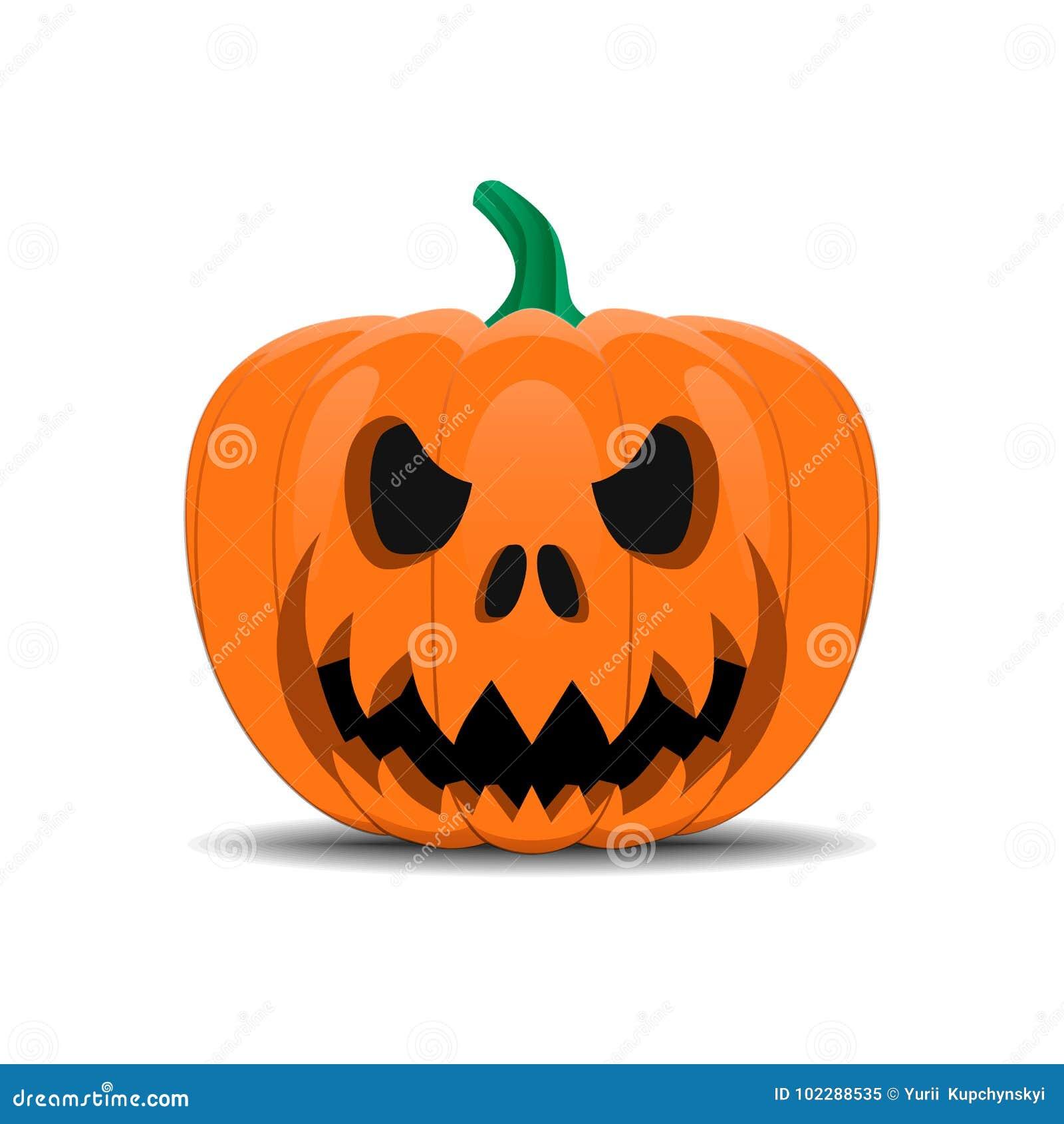 Halloween-Pompoengezicht