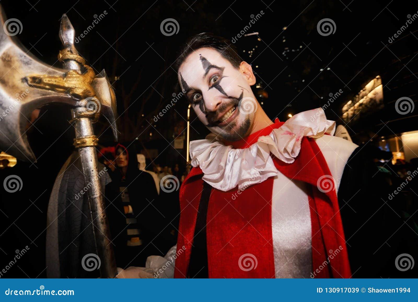 Halloween Portret van een mens
