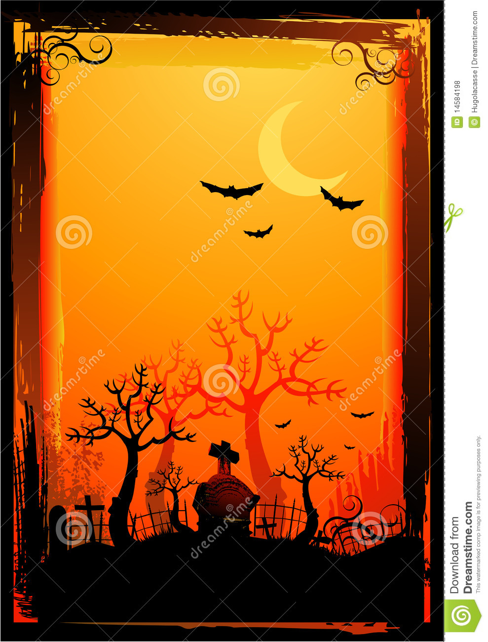 Halloween Poster Background Free.Halloween Poster Background Stock Vector Illustration Of