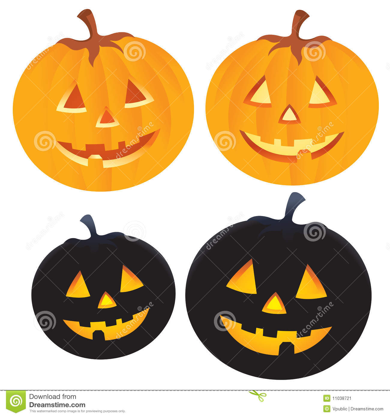 Halloween pumpkin stock image image 11038721 for Different pumpkin designs