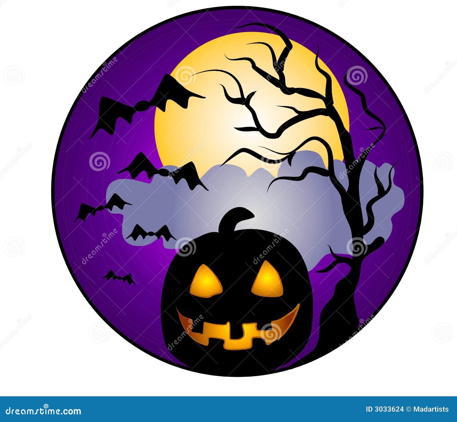 halloween scene clipart - photo #37