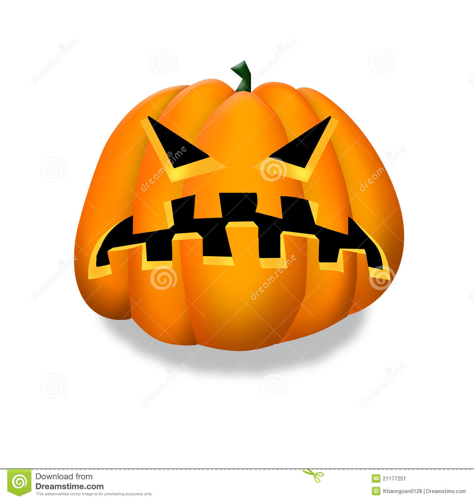 Halloween pumpkin clipart stock image image 21177251 for Halloween pumpkin clipart