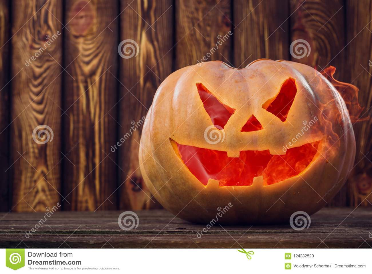 Halloween pumpkin design with copy space. place for text
