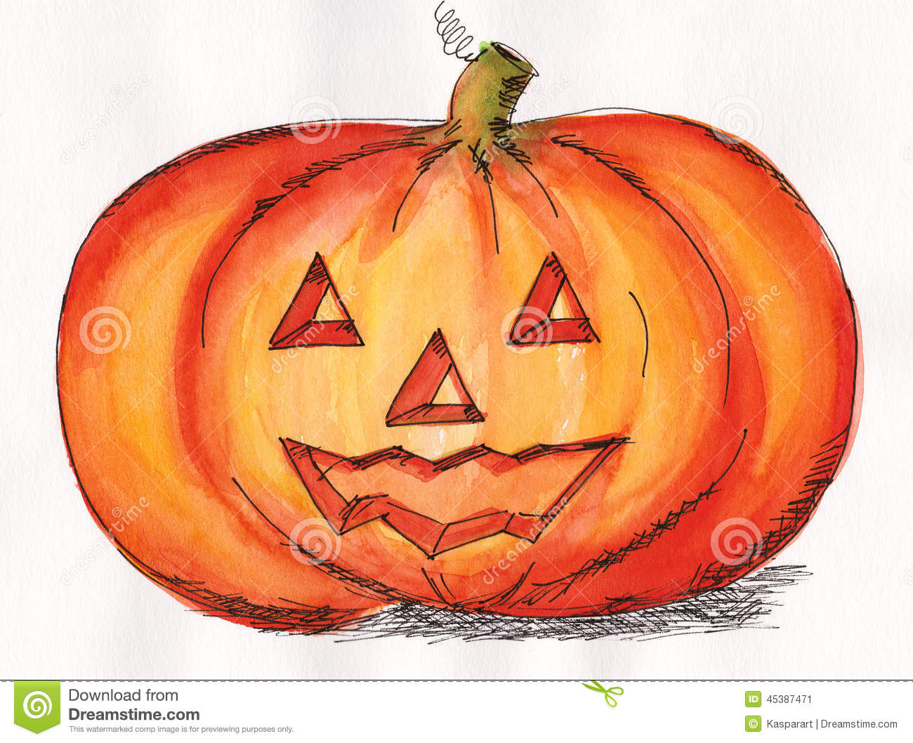 halloween pumpkin face stock illustration image 45387471 Funny Animal Thank You Pictures That Say Thank You