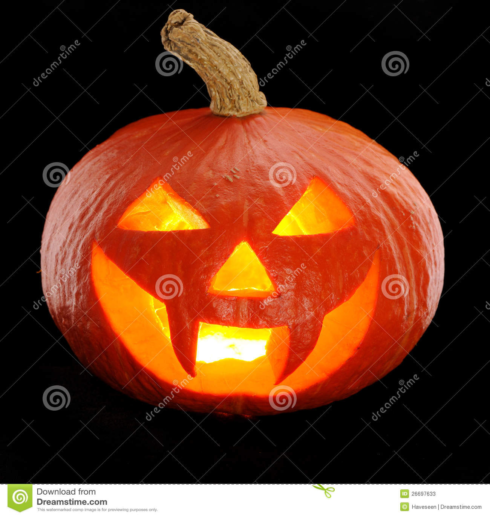Halloween Pumpkin Jack O Lantern Stock Image Image Of