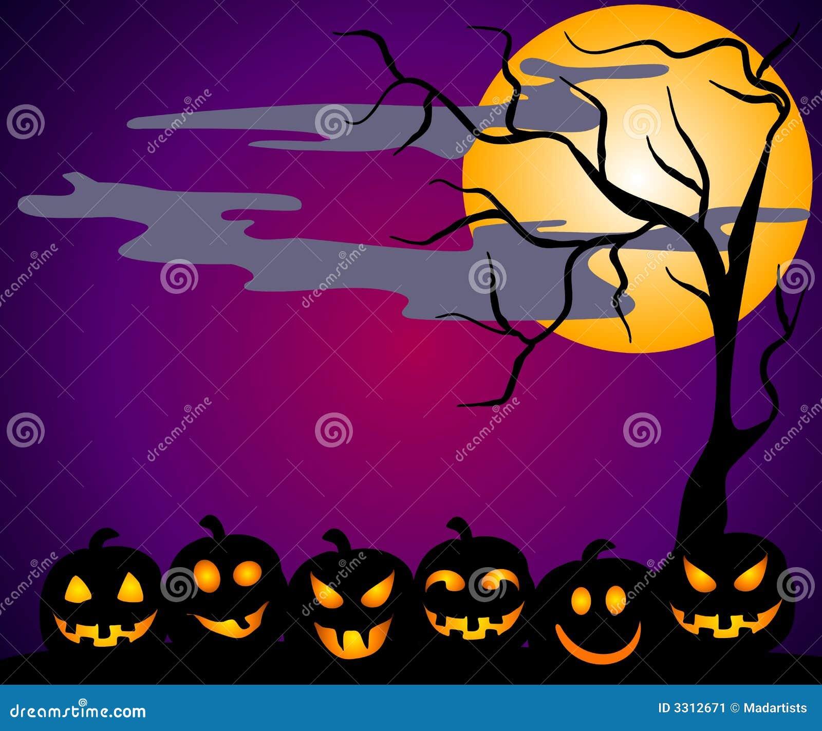 halloween scene clipart - photo #36