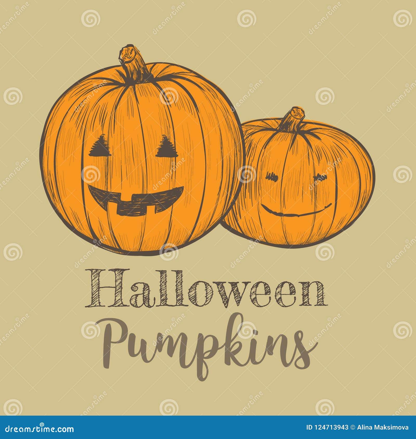 Halloween Pumpkin Vector.Halloween Pumpkin Vector Illustration Stock Vector Illustration