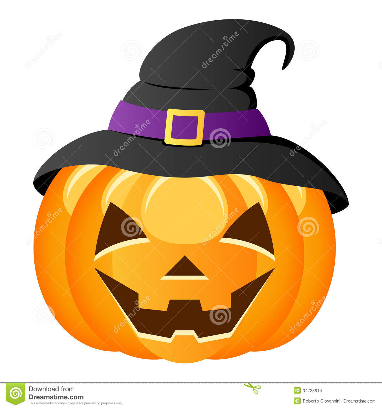 halloween witch hat stock photos image 33723153