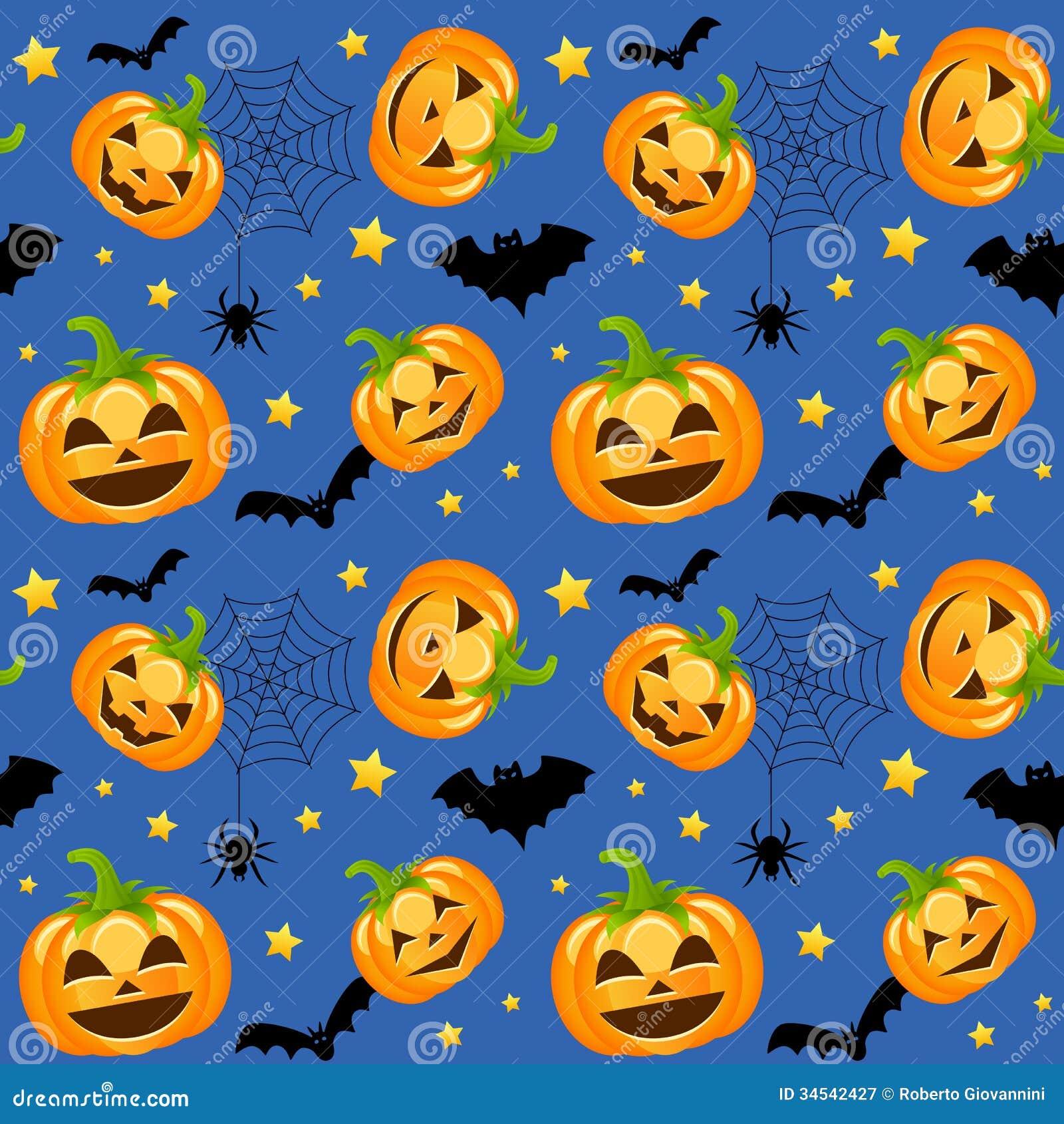 Halloween Pumpkins Seamless