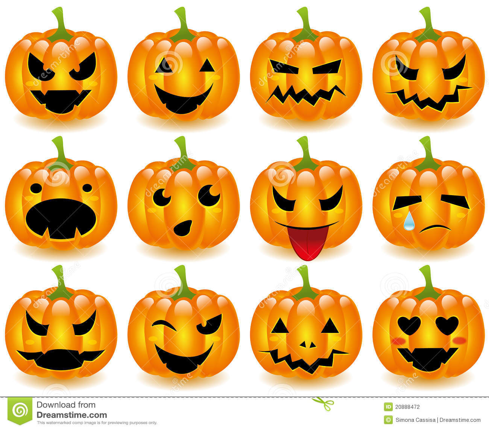 Halloween Pumpkins Smi...