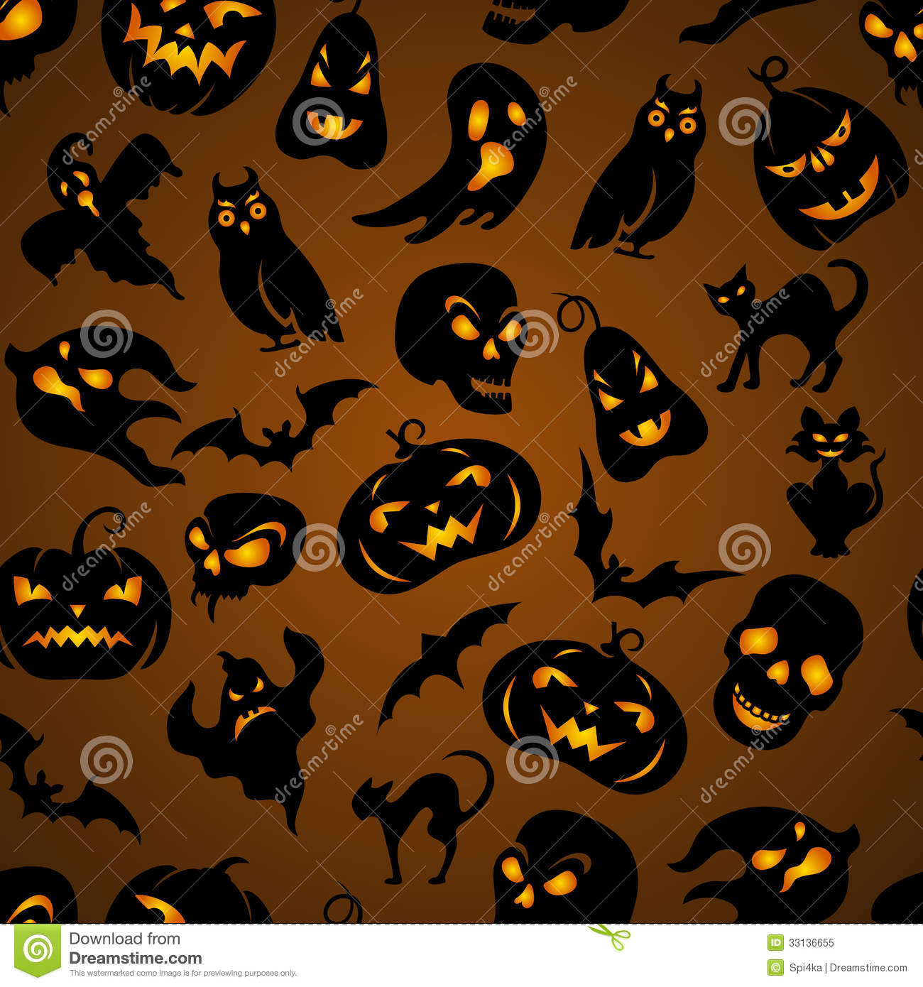 halloween seamless pattern stock vector image of drawn halloween ghost clipart png Halloween Cat Clip Art