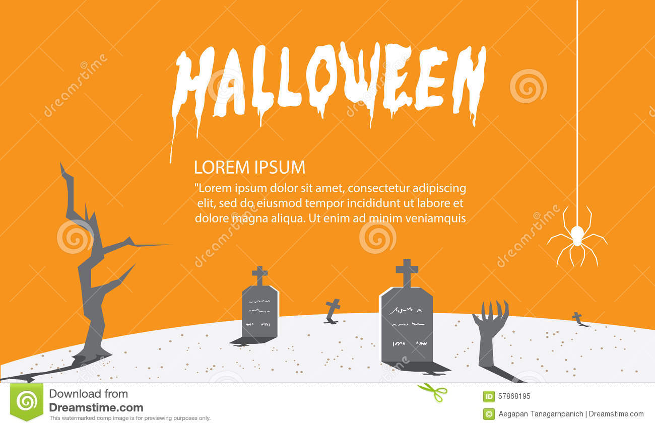halloween signs of orange for content with a background as a tom