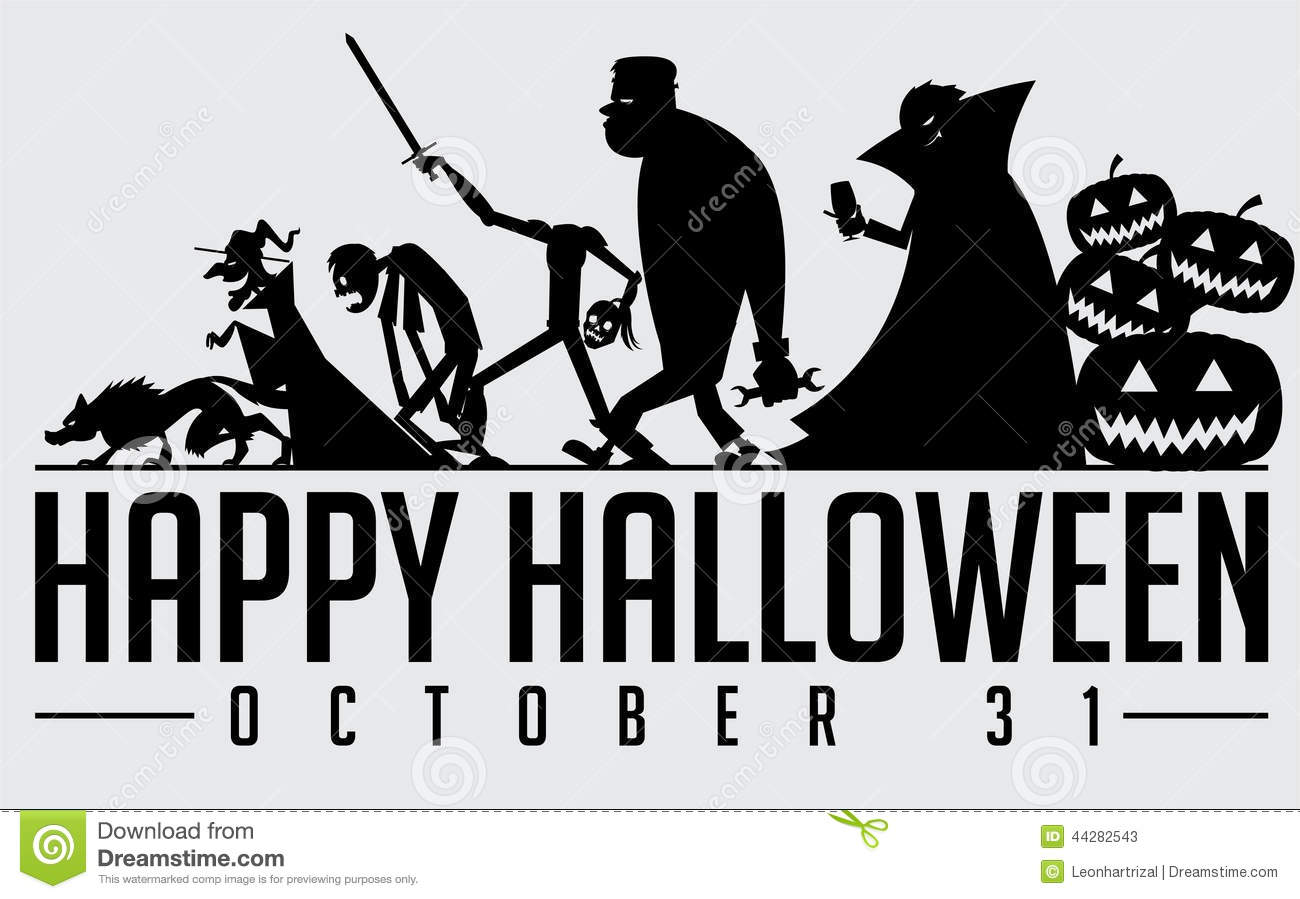 halloween silhouette stock vector image 44282543 haunted mansion clipart haunted house clipart
