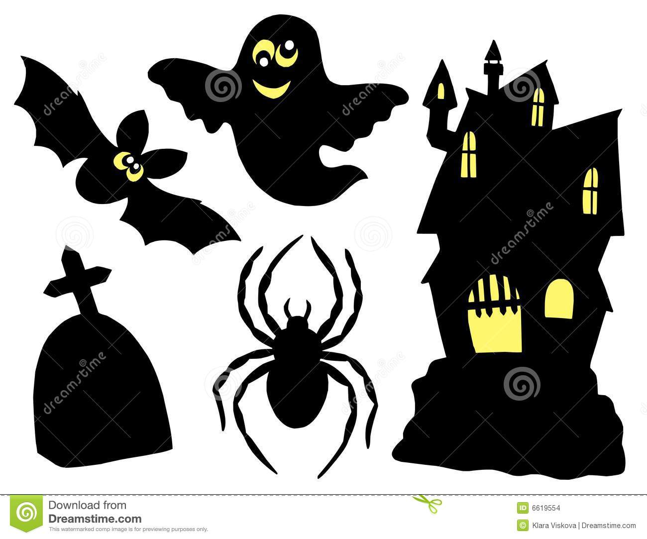 halloween silhouettes halloween decorations spooky dave lowe