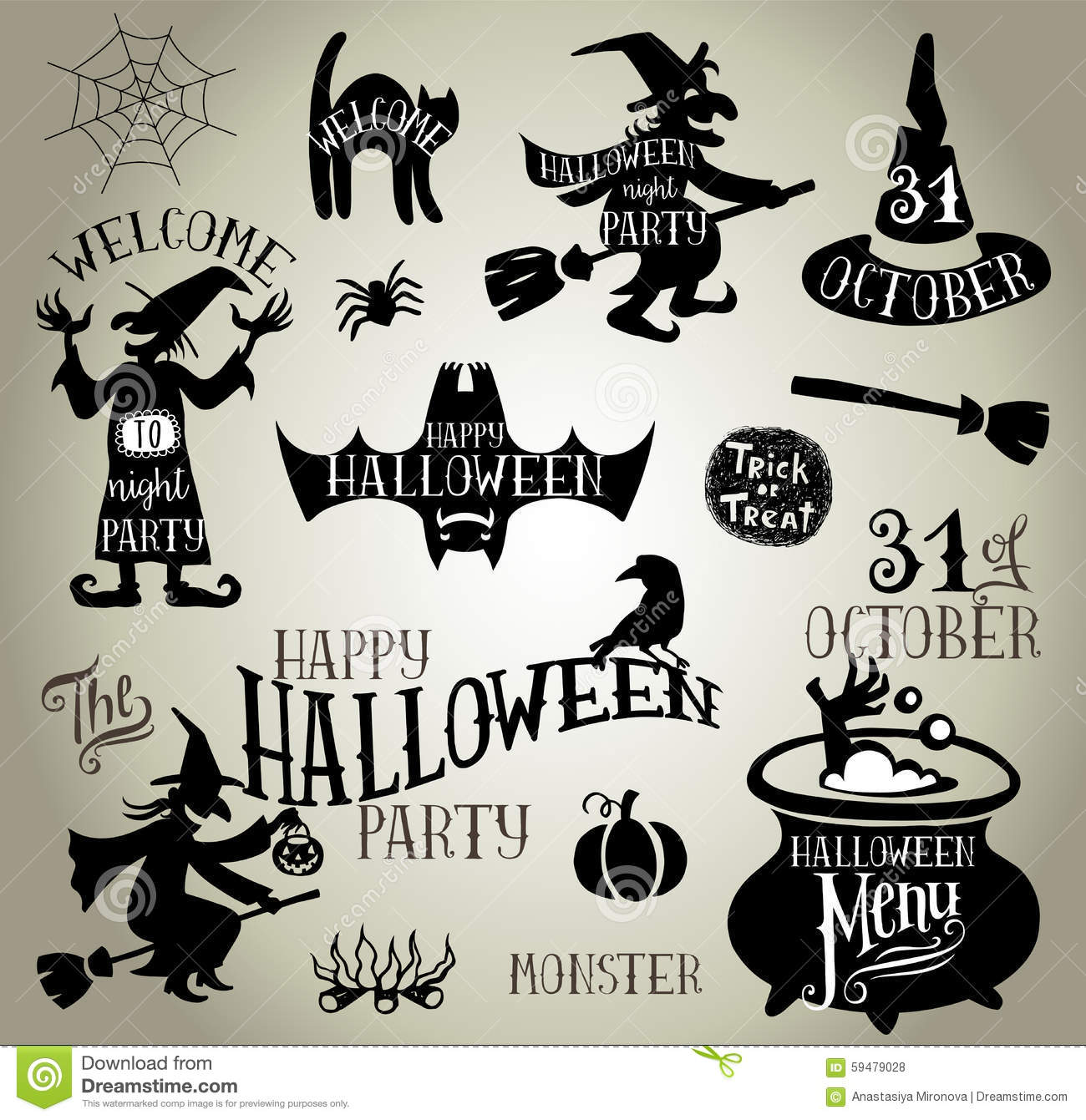 halloween silhouettes stock vector image 59479028 grim reaper clip art free halloween grim reaper clipart