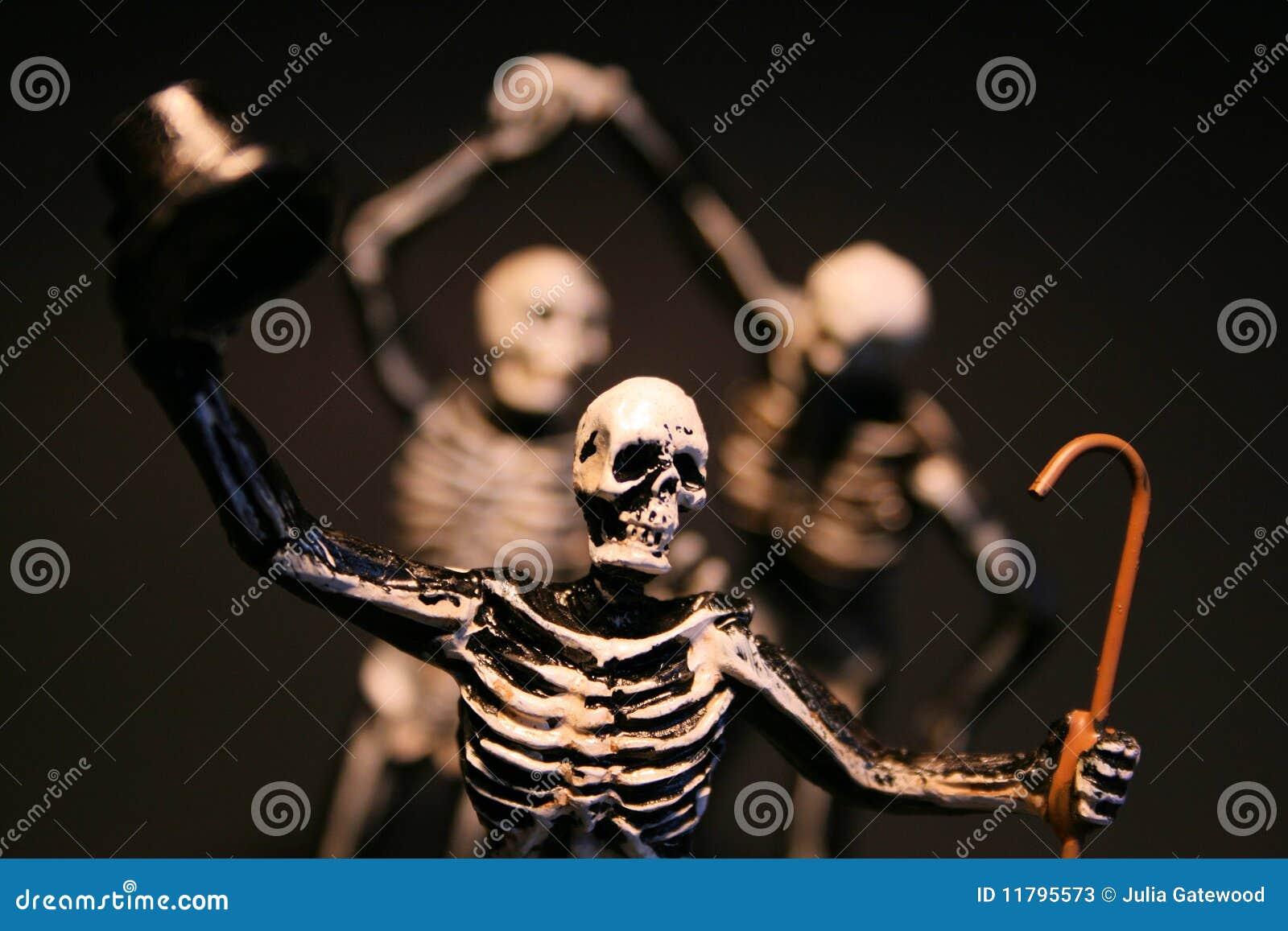Download Halloween Skeletons stock image. Image of skeletons, skull - 11795573