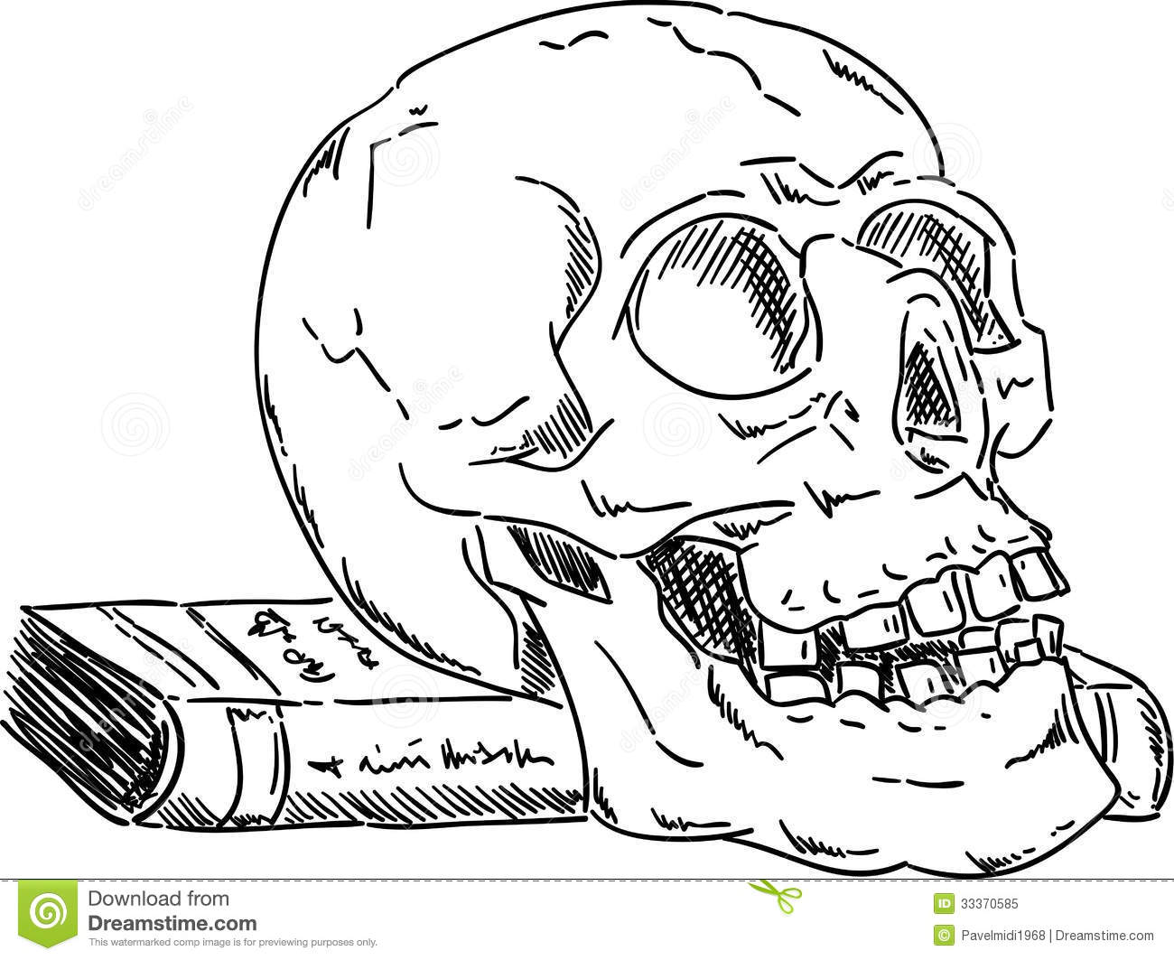 halloween skull stock vector illustration of picture - Halloween Pictures To Draw