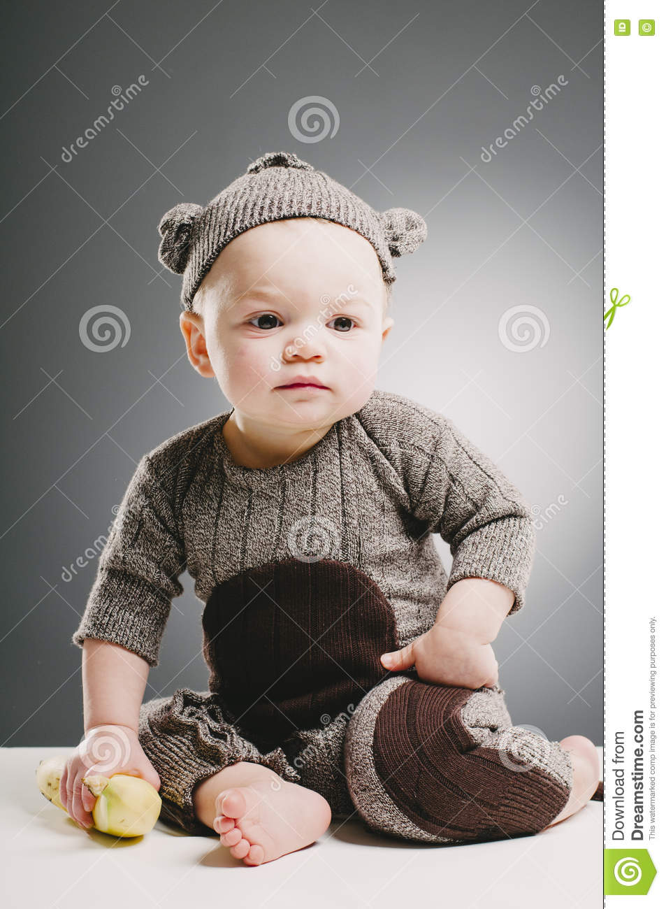halloween sock monkey stock image. image of looking, baby - 72119109