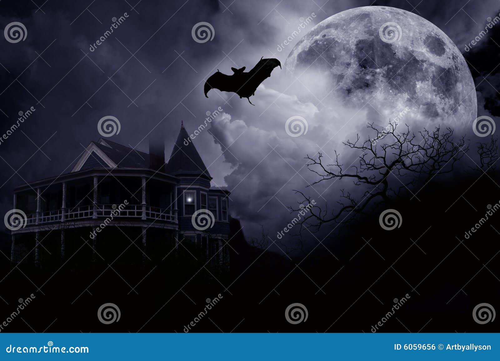 Halloween spökade herrgården