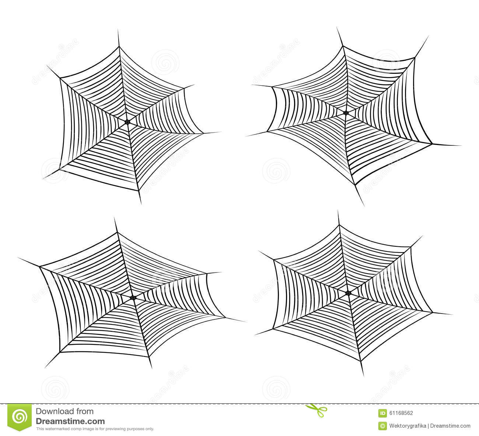 halloween spider web, cobweb symbol, icon set. vector illustration