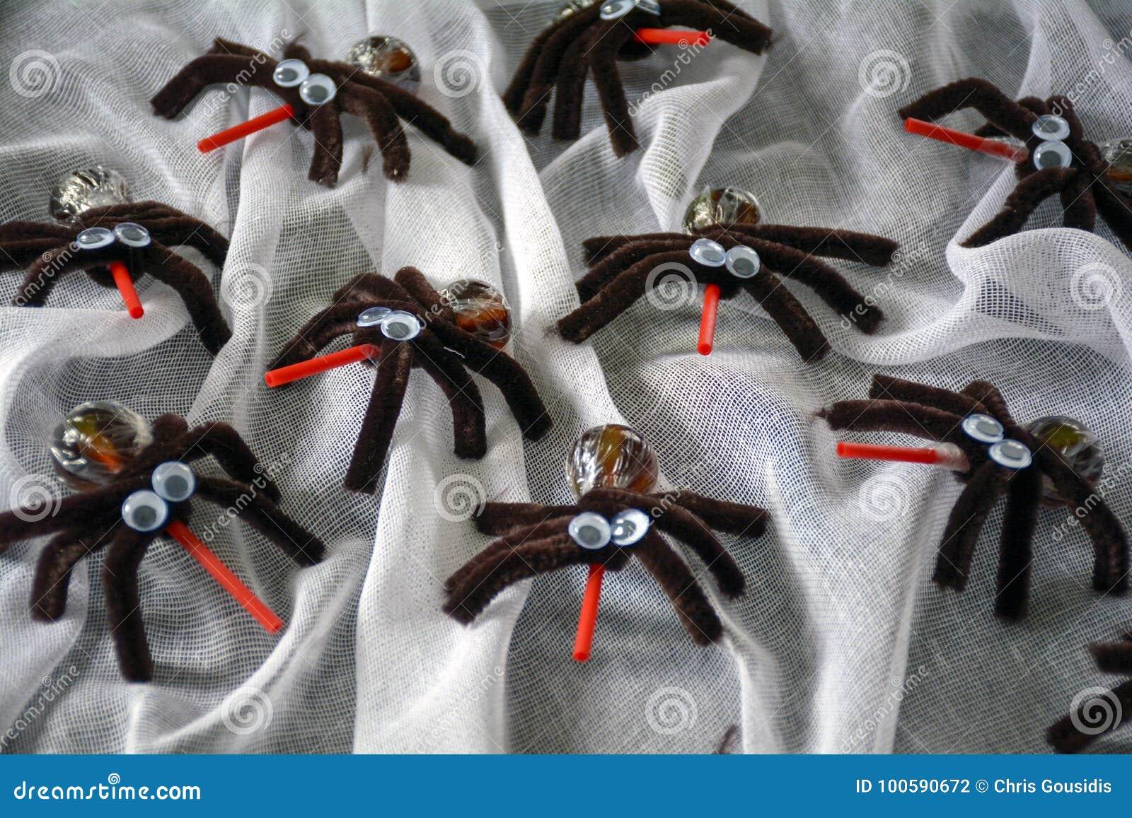 Halloween happy spider treats