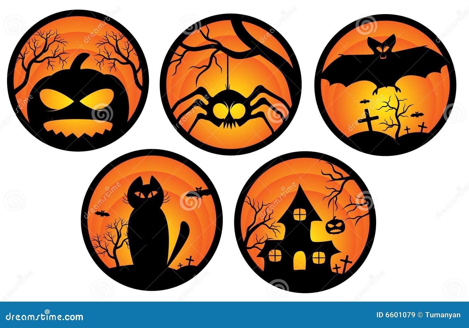Открытка на хэллоуин тыква