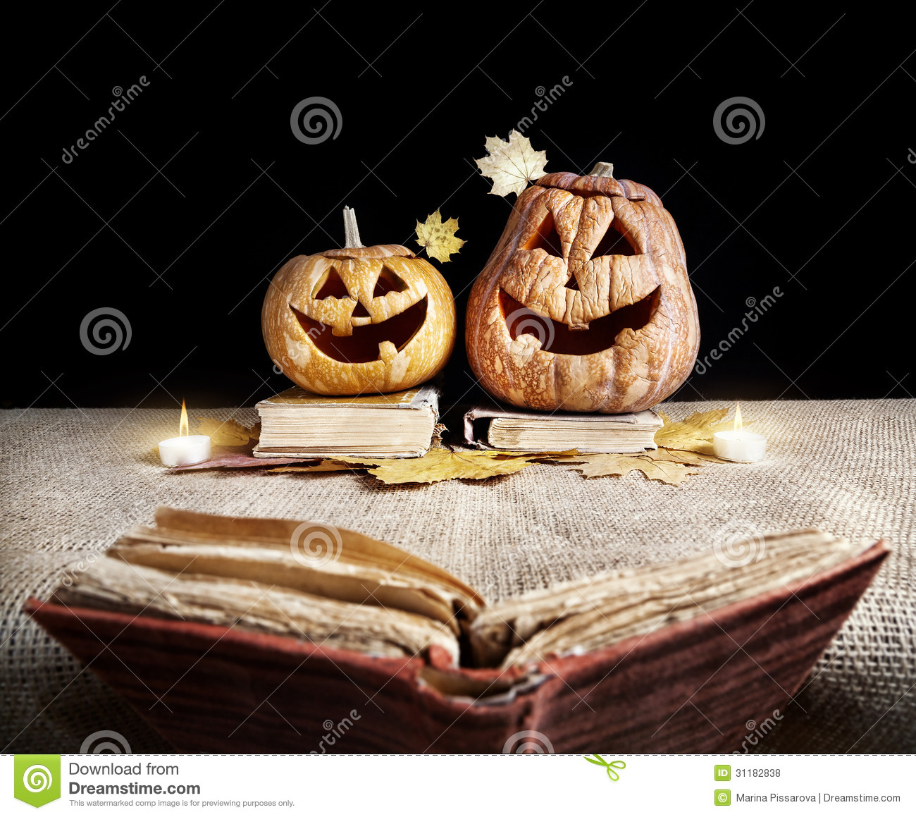 Halloween Voorleesverhaal.Halloween Story Stock Photo Image Of Jackolantern Lantern