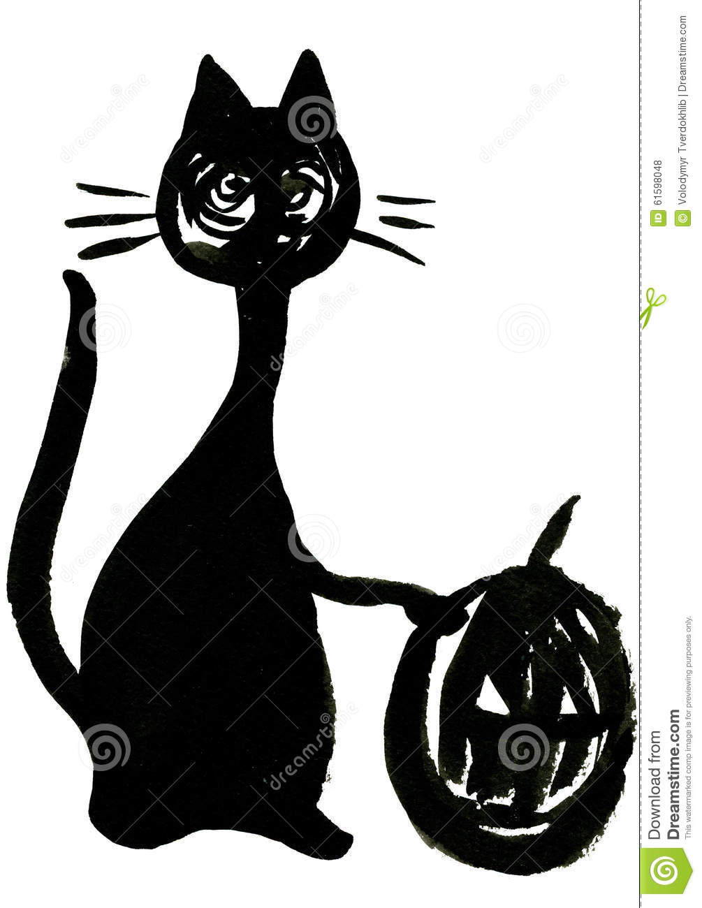 Halloween Symbol Stock Illustration Image 61598048