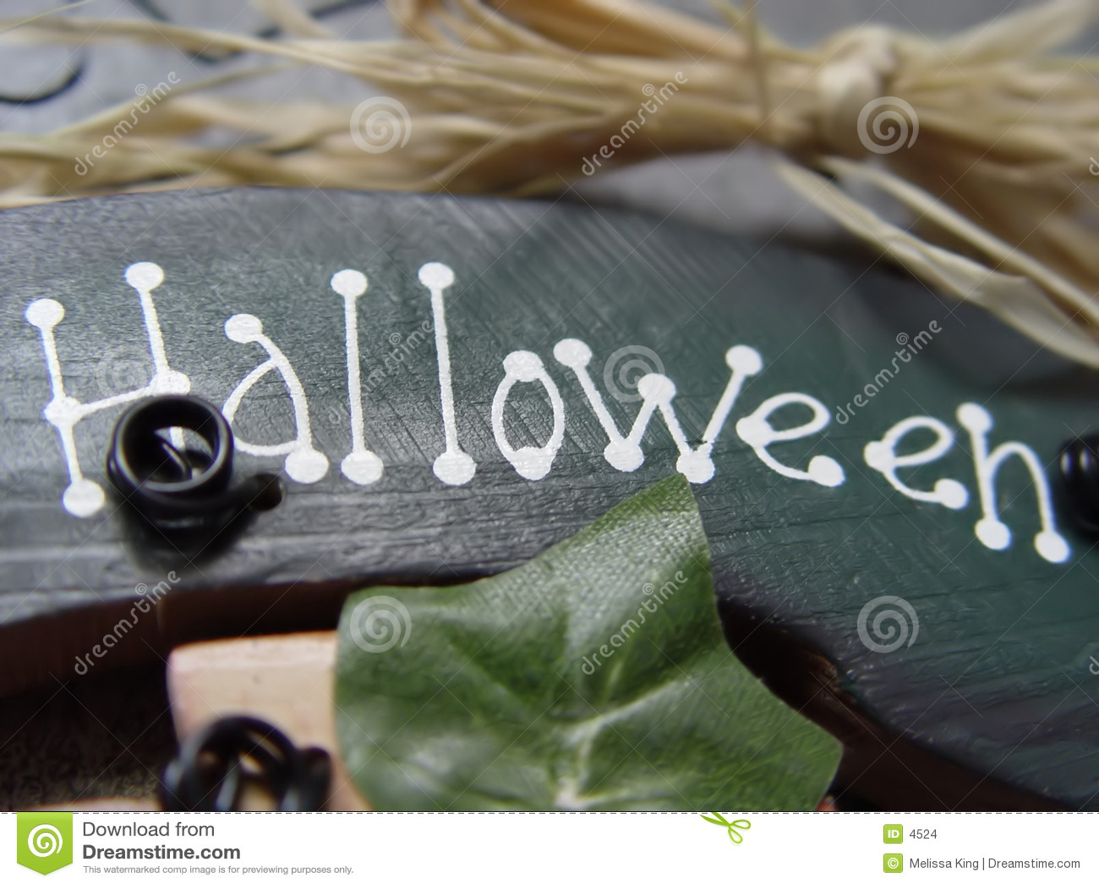 Halloween tecken