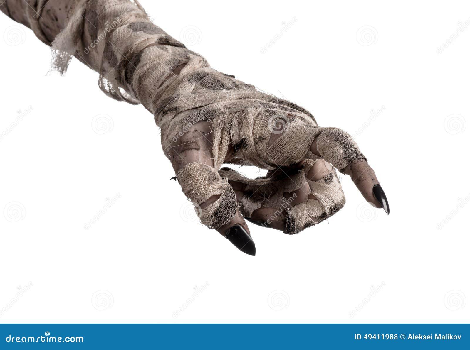 Download Halloween-Thema: Schreckliche Alte Mamahände Auf Einem Weißen Hintergrund Stockfoto - Bild von hände, übel: 49411988