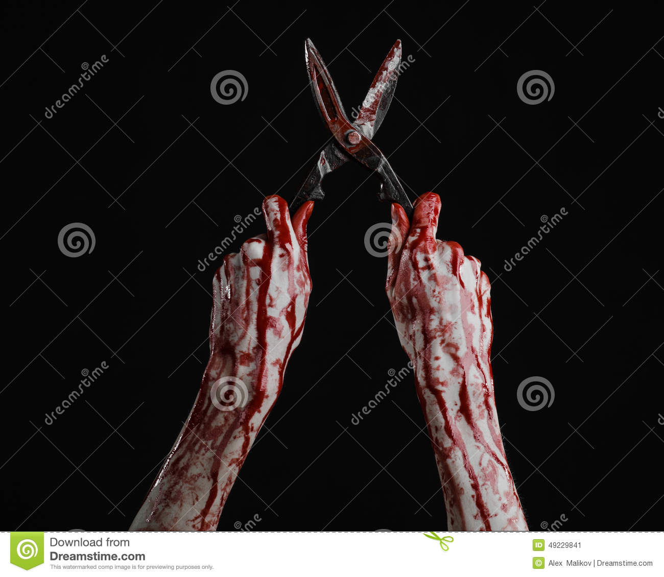bloody hand holding - photo #37