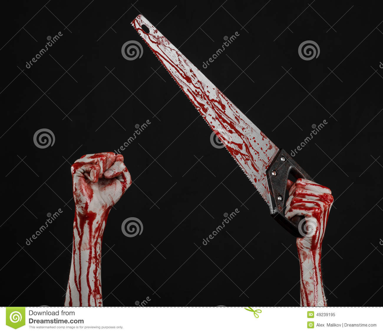 bloody hand holding - photo #20