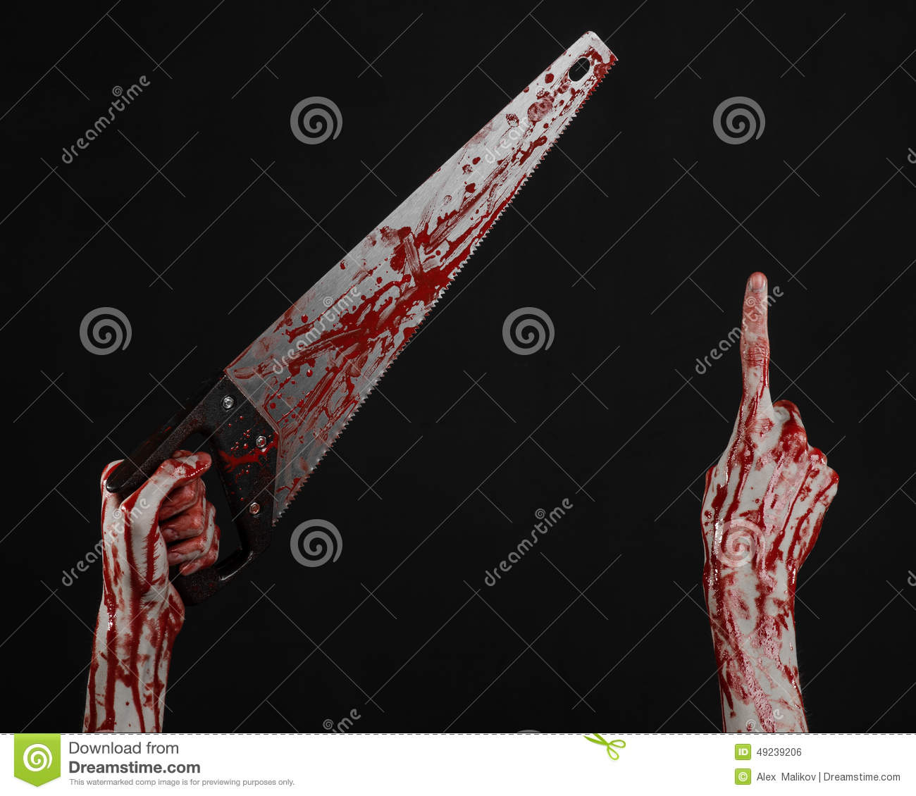 bloody hand holding - photo #35