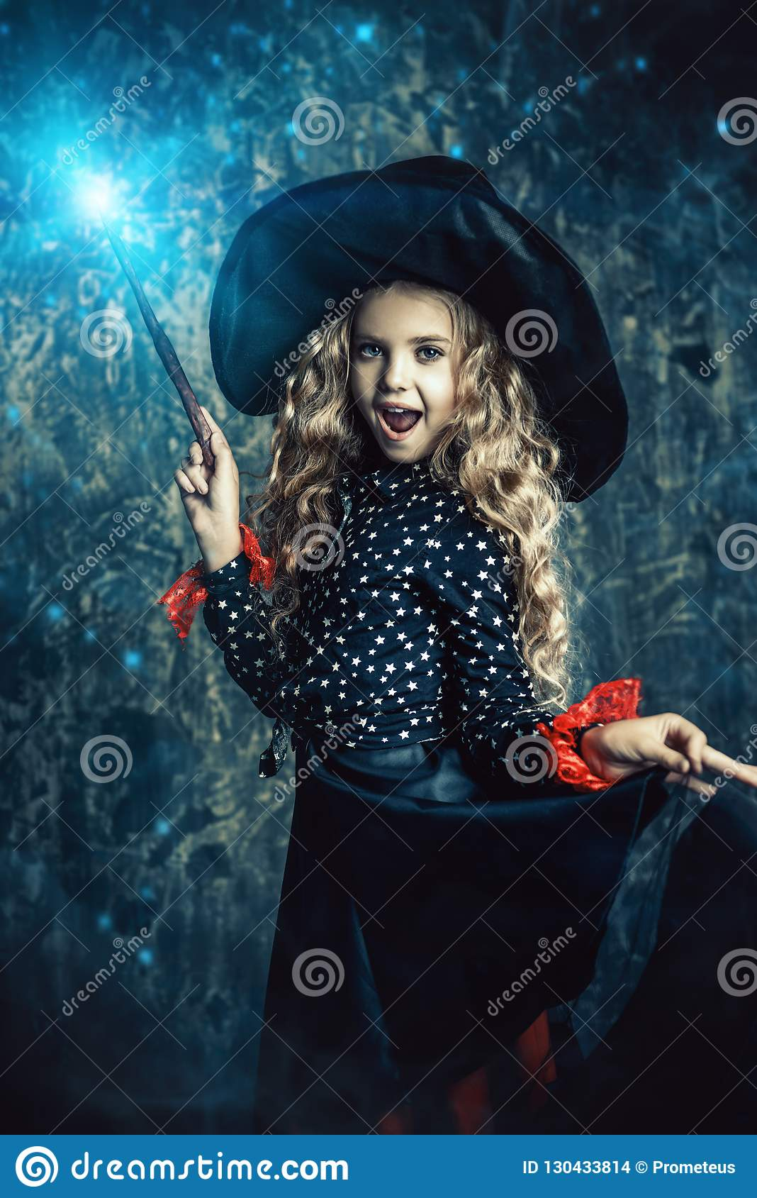 Halloween time and witch
