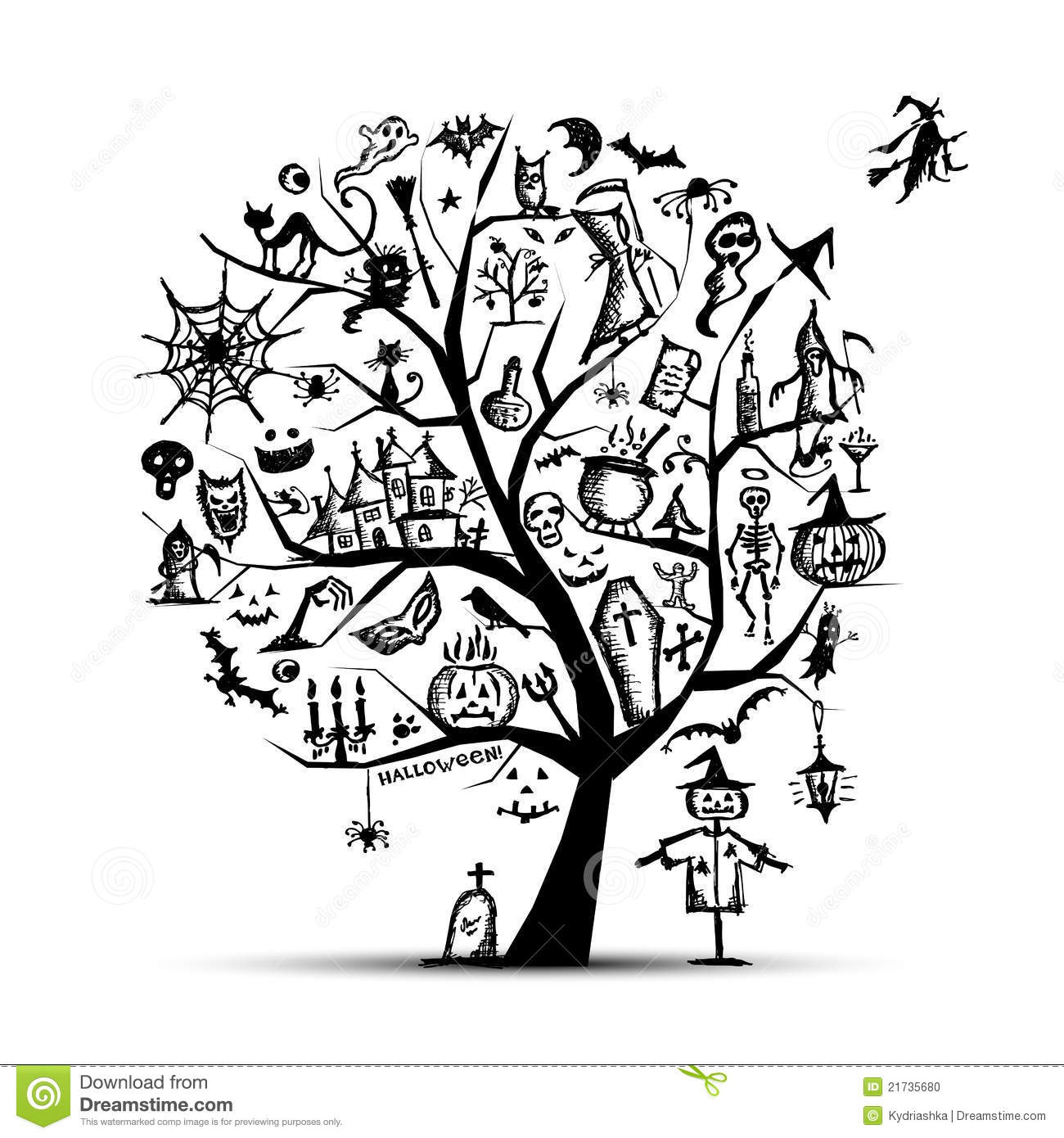 Haunted Graveyard also C88e256e46ce81c2 likewise Stock Images Spider Web Background Image20418674 likewise Stock Photo Halloween Tree Your Design Image21735680 also Search. on spooky house sketch