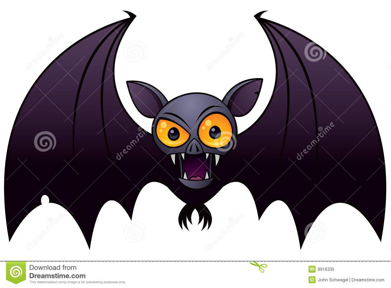 halloween vampire bat stock vector image of drawing illustration 9916335. Black Bedroom Furniture Sets. Home Design Ideas