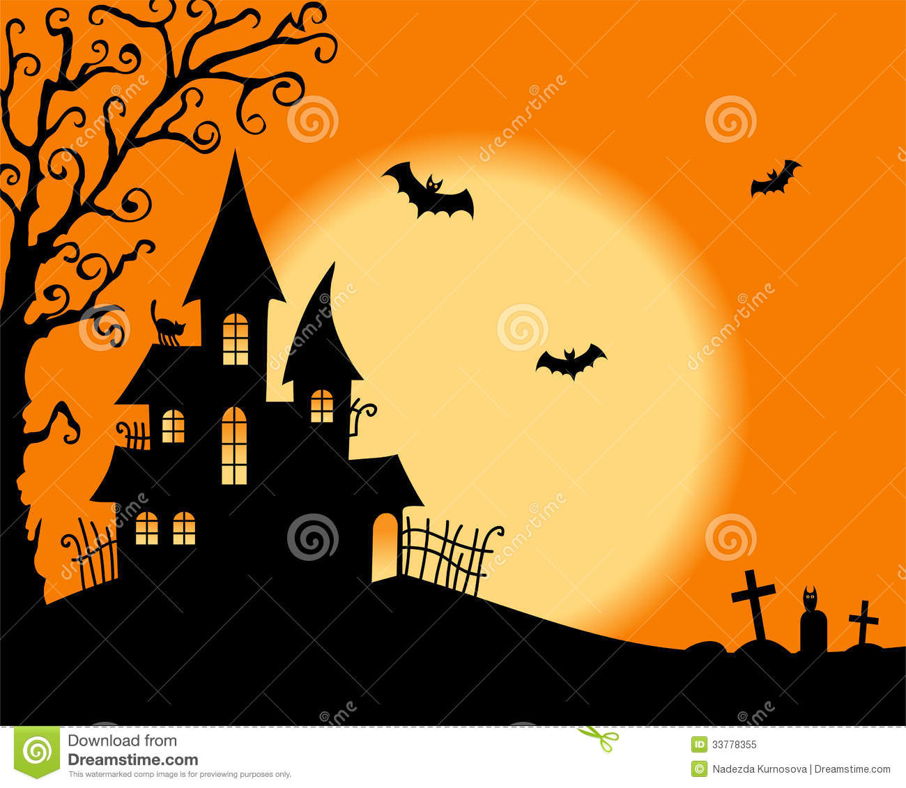Images Free Download: Halloween Vector Card Stock Vector. Illustration Of