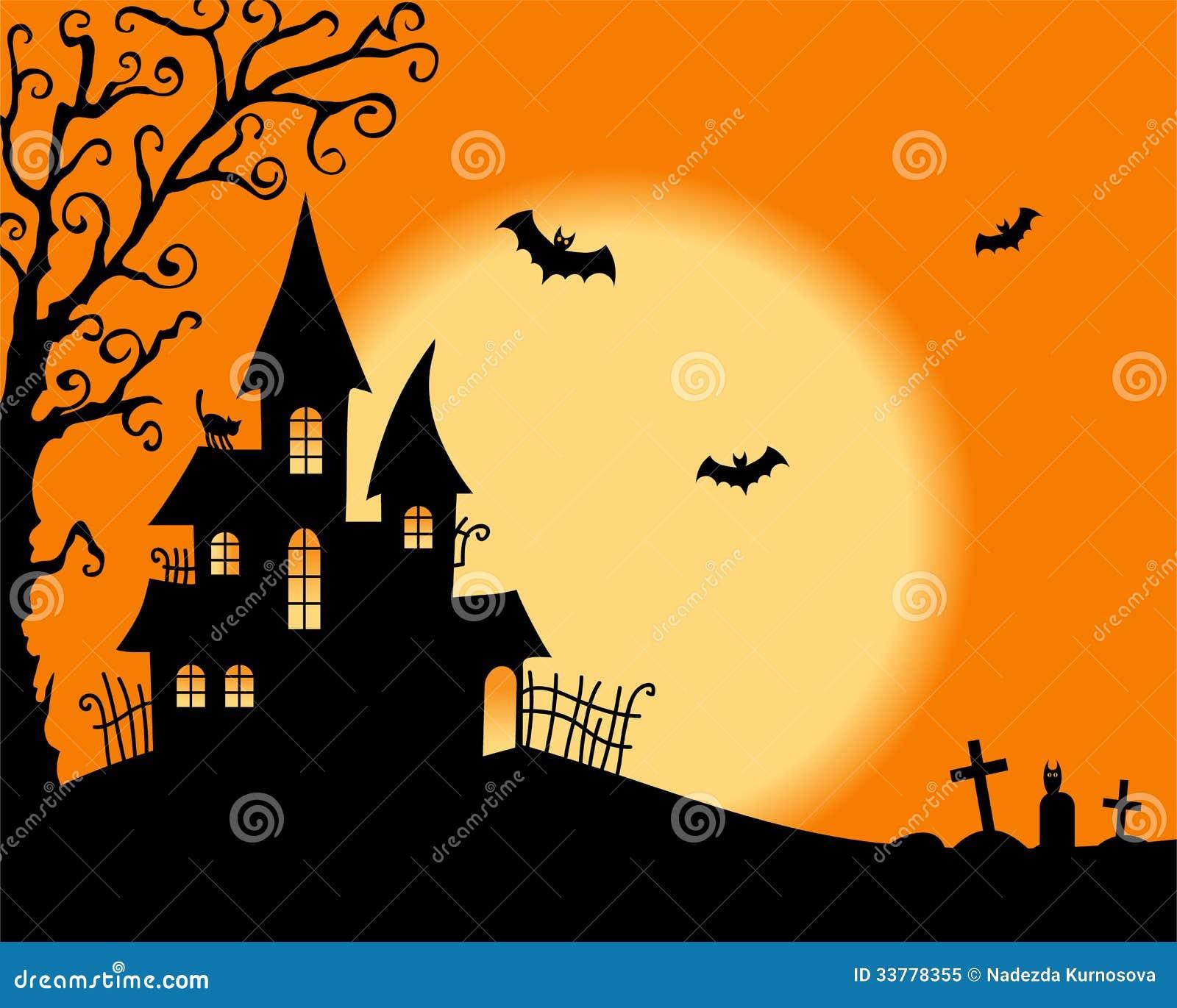 Halloween Vector Card Royalty Free Stock Photo - Image: 33778355