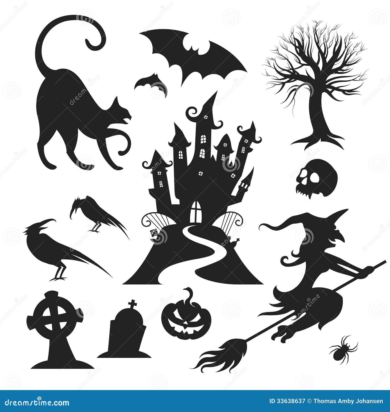 Halloween Vector Design Elements Stock Vector ...