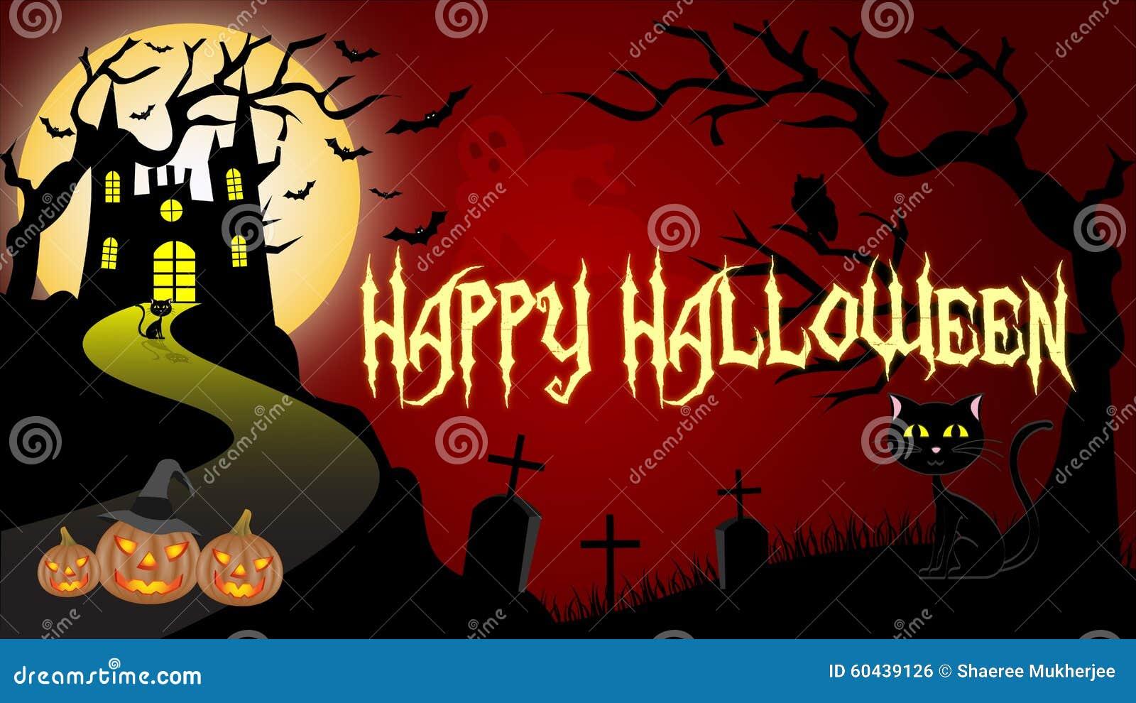 Great Wallpaper Halloween Red - halloween-wallpaper-happy-background-haunted-castle-pumpkins-black-cat-ghost-bats-full-moon-60439126  Picture_468074.jpg