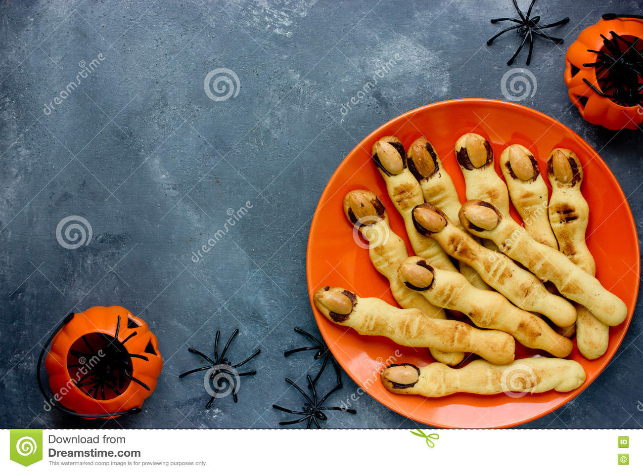 Halloween Witch Finger Cookies For Kids Funny Recipe For Hallow